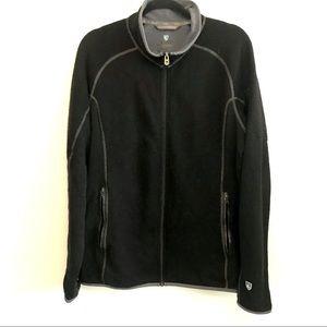 Kuhl Alfpaca Kashmira Fleece Full Zip Jacket Black